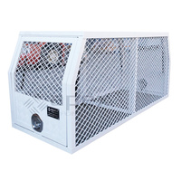 Dog Cage White 15004CPWL - 1780mm (L) x 700mm (W) x 800mm (H)